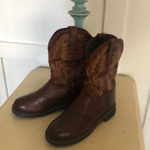 02a10d89890 Justin Original Work Boots Men's Stampede Boot
